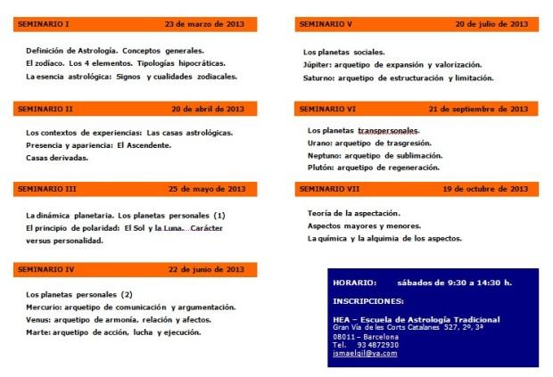 HEA - Seminarios